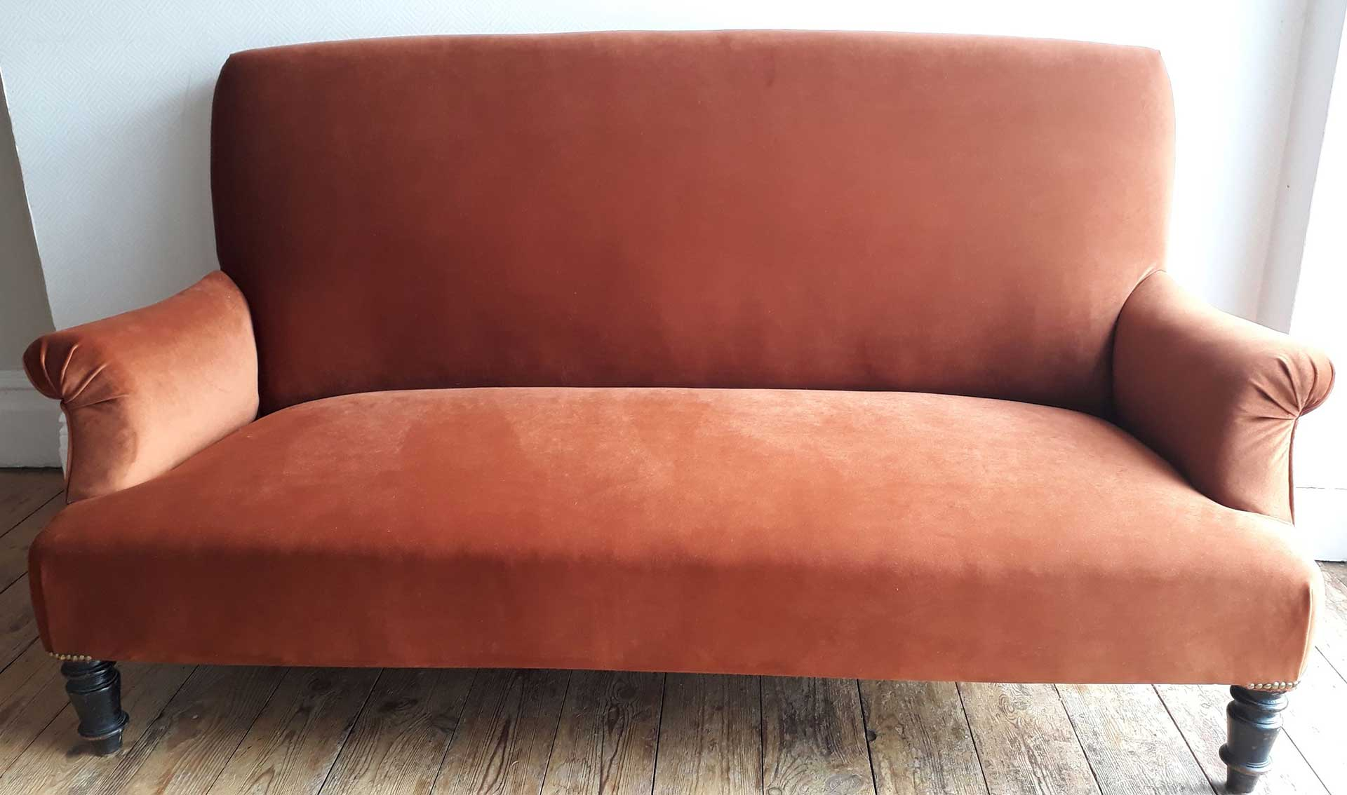 Re-Covered French Sofa