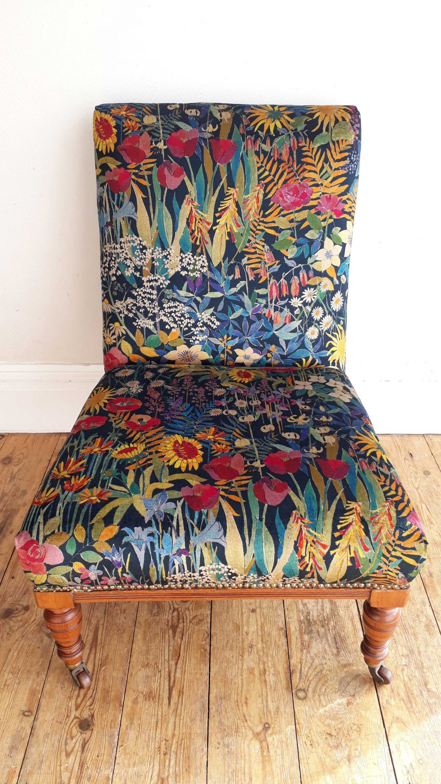 Re-Covered Liberty Print Chair