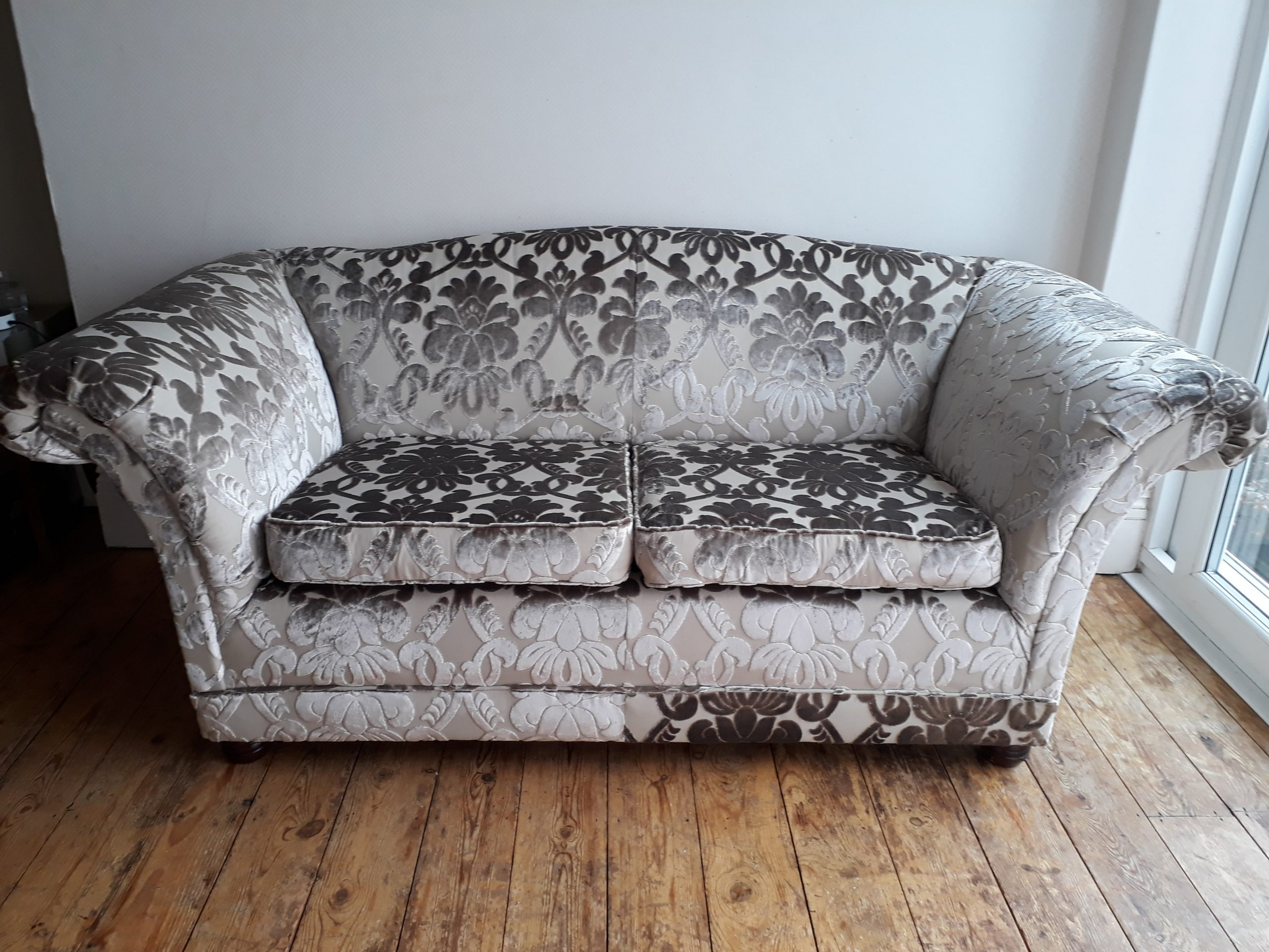 Re-covered Sofa