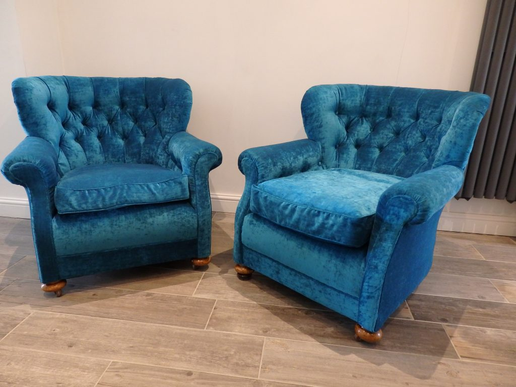 Bow Back Victorian Armchairs