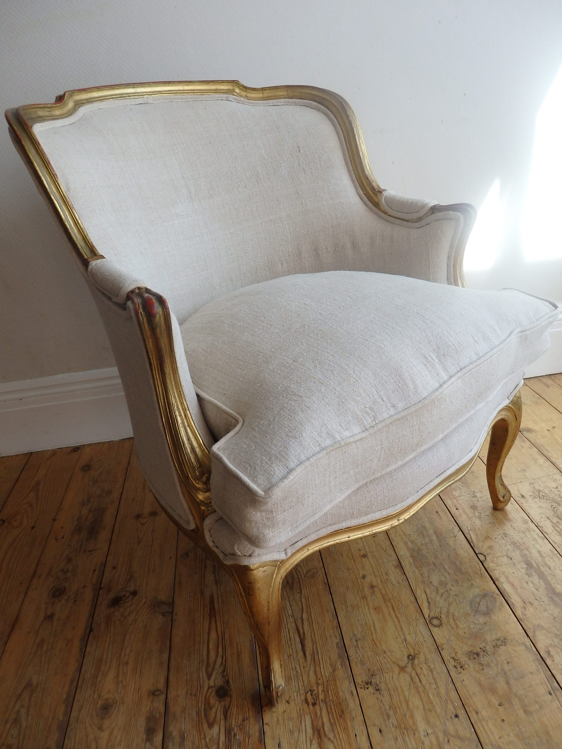 Restored Vintage French Armchair