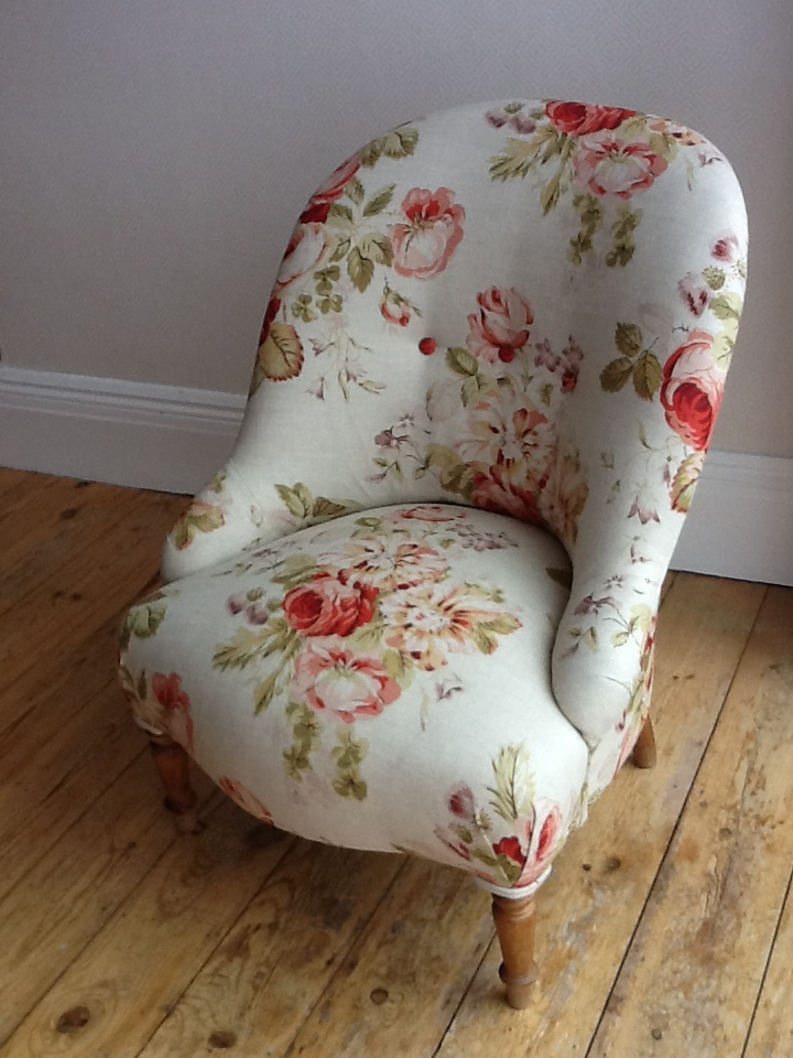Recovered Reading Chair