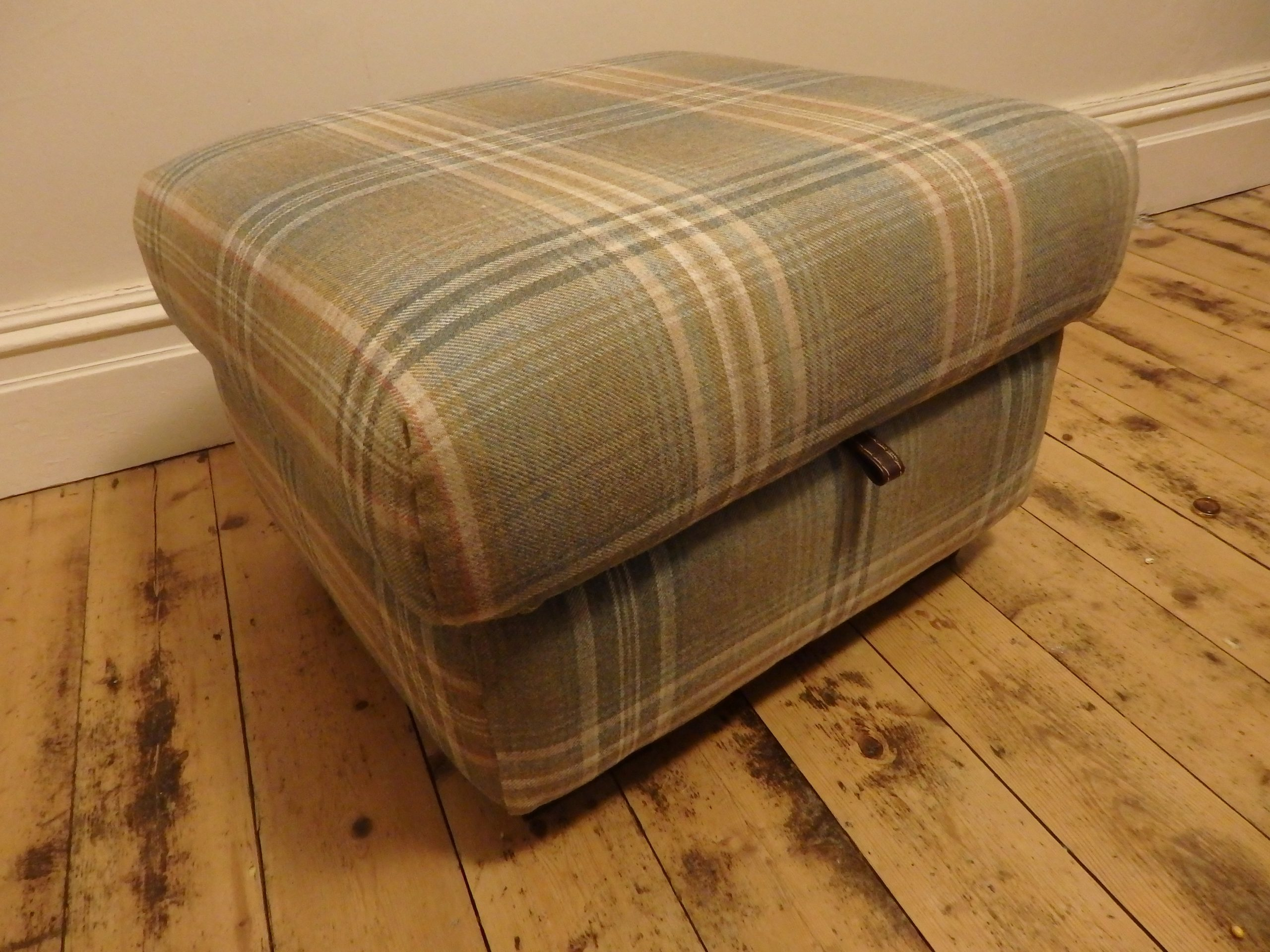 Re-Covered Ottoman